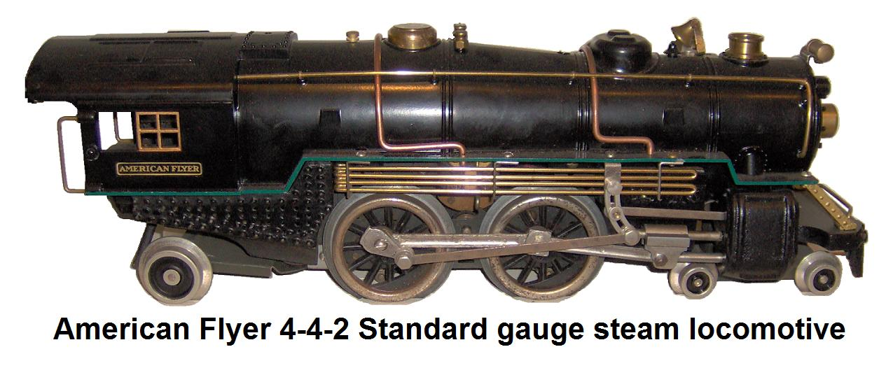 American Flyer Standard gauge 4-4-2 steam locomotive