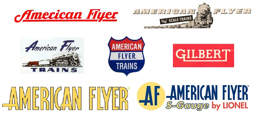 American Flyer had many logos through the years