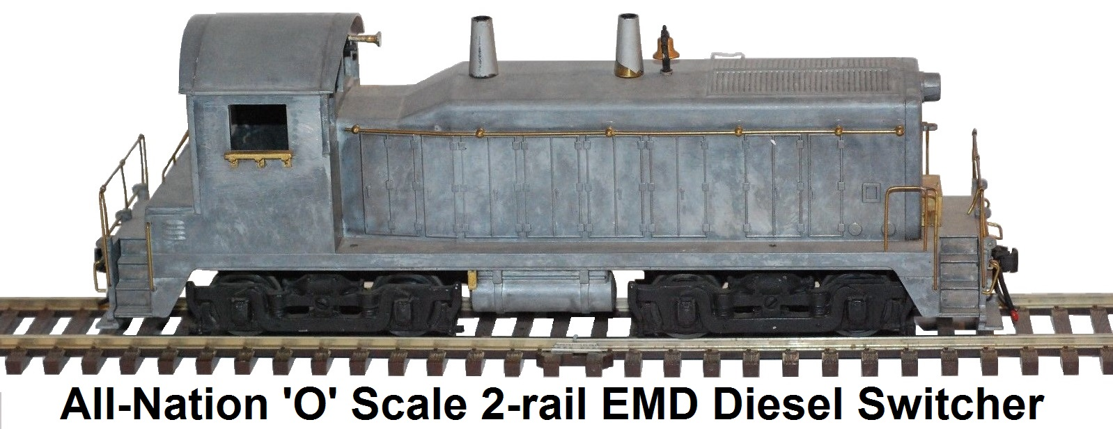 All-Nation 'O' scale EMD 1,000 HP Diesel Yard Switcher for 2-rail