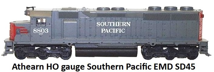 Athearn HO gauge Southern Pacific EMD SD45