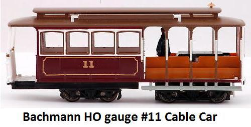 Bachmann Self Propelled Cable car 60530 in HO gauge