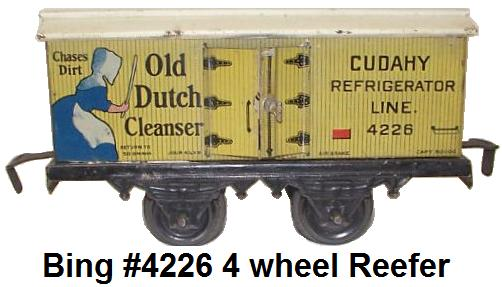 Bing #4226 Dutch Cleanser Box Car