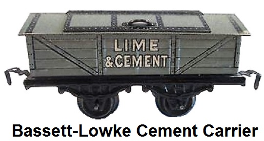 Bassett-Lowke cement carrier