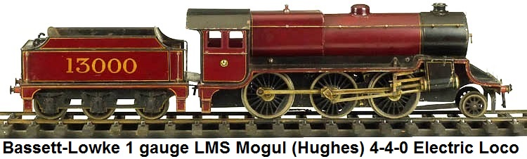 Bassett-Lowke 2-6-0 LMS Mogul (Hughes) electric in 1 gauge