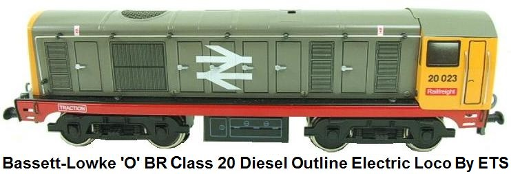 Bassett-Lowke 'O' gauge British Railways Class 20 Diesel Loco Electric