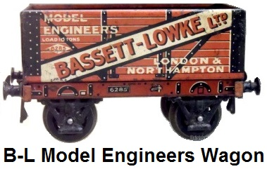 Bassett-Lowke Model Engineers wagon