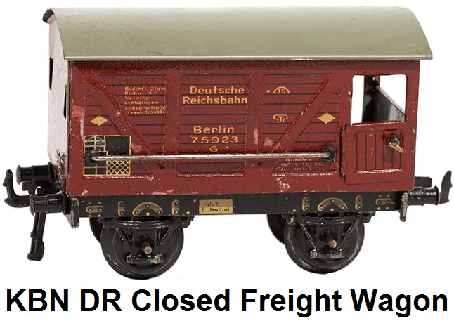 Bub closed freight wagon