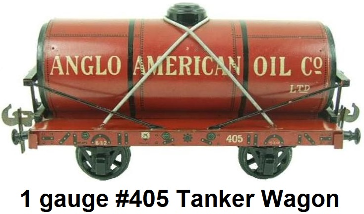 Carette gauge 1 Anglo-American Co. Ltd. Tanker Wagon RN 405