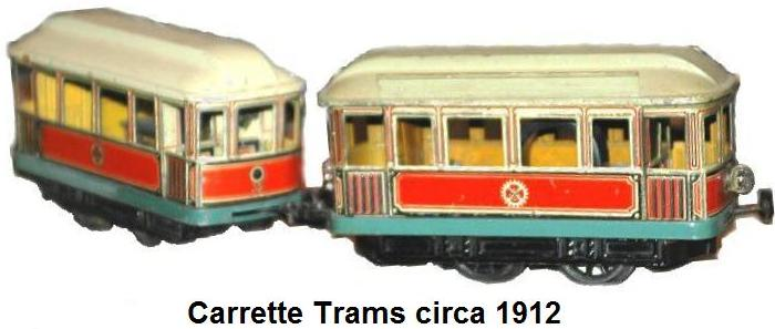 Carette Trams circa 1912