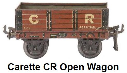 Carette CR Open Wagon
