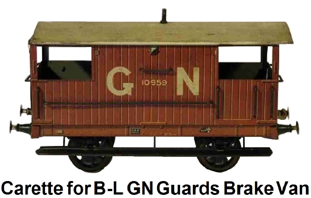 Carette for Bassett-Lowke Guards Brake Van