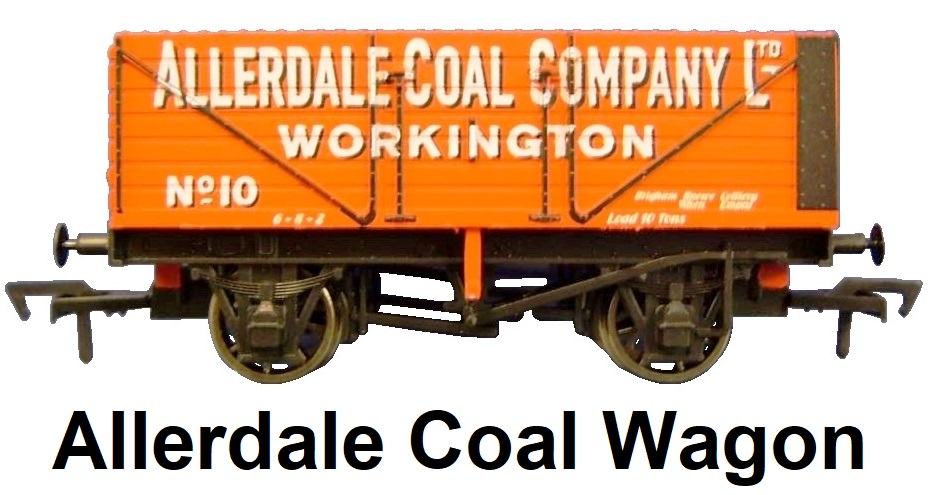 Dapol 'OO' gauge Allerdale Coal Company Ltd, Workington Limited Edition Wagon