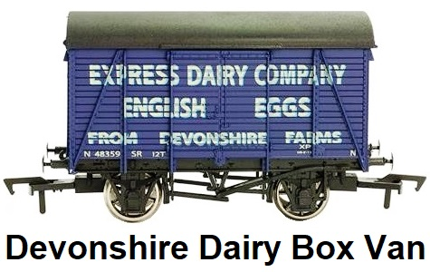 Dapol 'OO' gauge Devonshire Dairy Company English Eggs Box Van