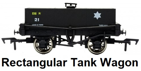 Dapol 'OO' gauge Rectangular Tank Wagon