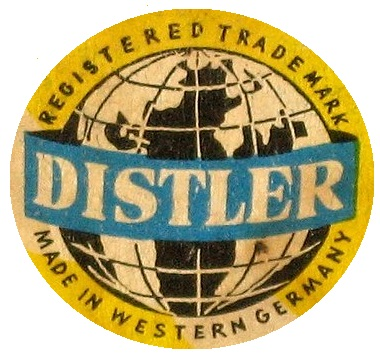 later Distler logo