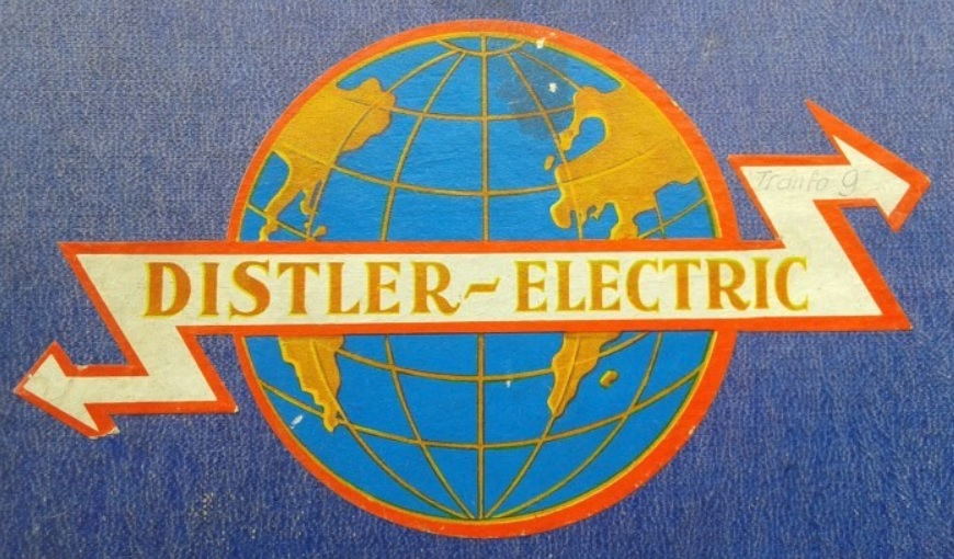early Distler logo