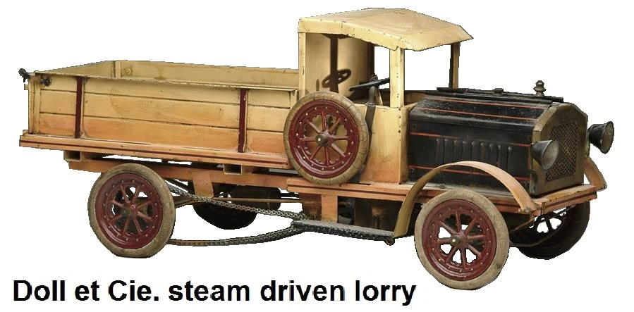 Doll et Cie. steam driven lorry
