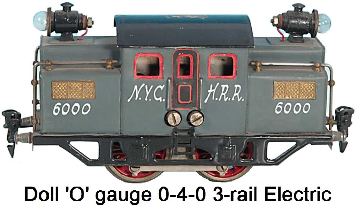 Doll et Cie. 'O' gauge 0-4-0 Electric loco for 3 rail track