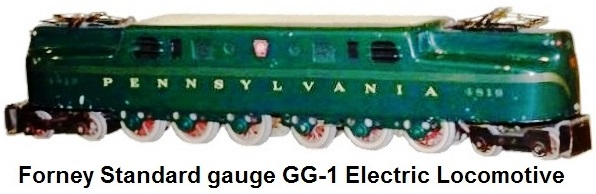Forney Standard gauge PRR GG1 Electric Locomotive