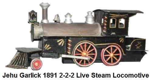 Jehru Garlick 1895 tinplate electric loco