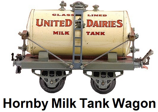 Hornby 'O' gauge French Early Edition United Dairies Tank