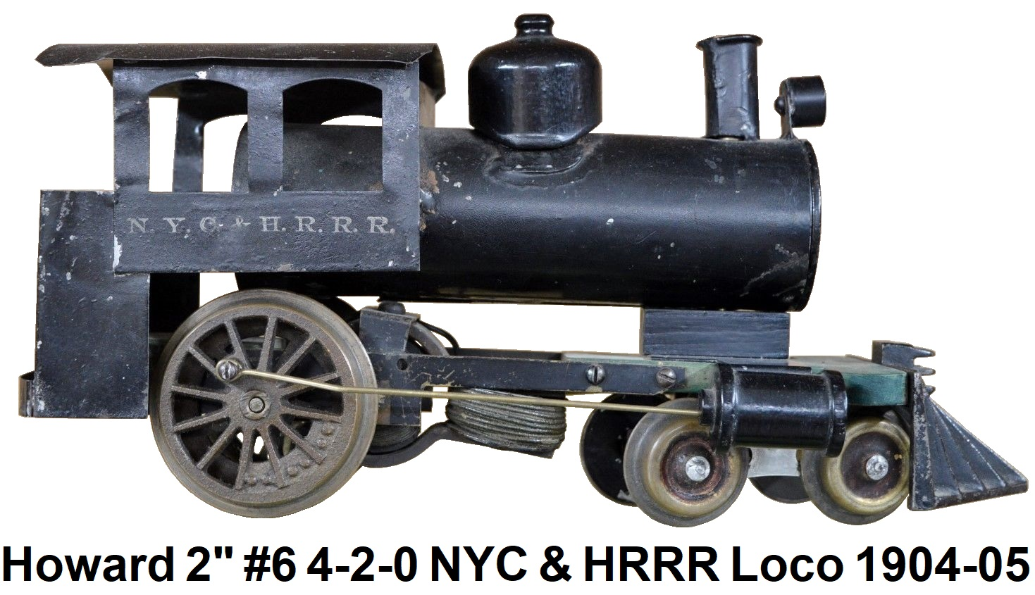 Howard early #6 4-2-0 Steam outline locomotive in 2 inch gauge