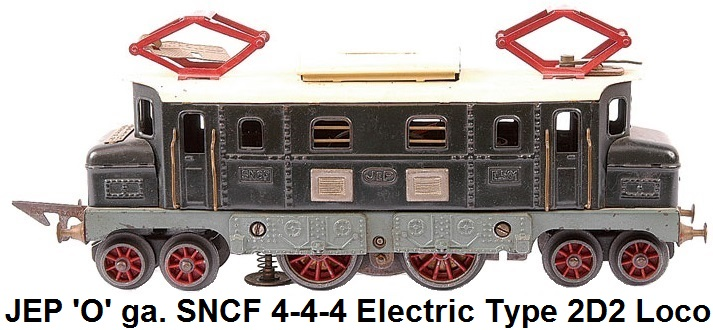 JEP 'O' gauge French SNCF 4-4-4 Electric type 2D2 loco made 1953-1964