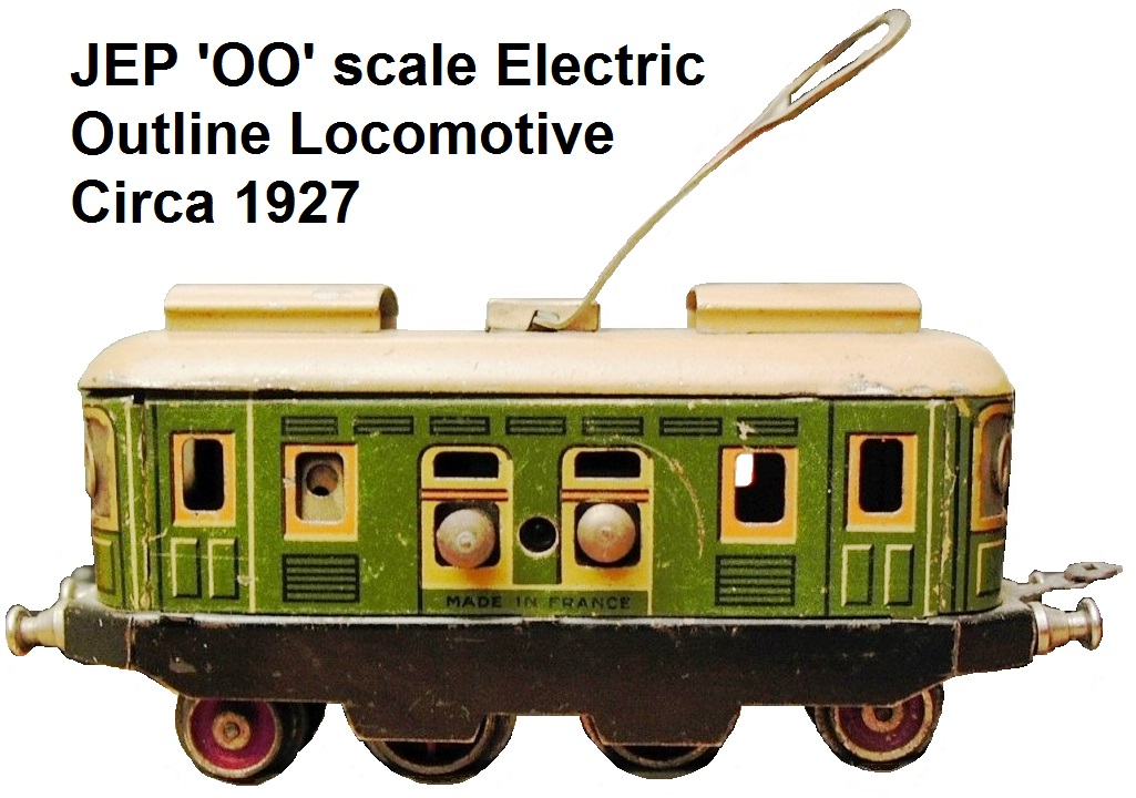 JEP 'OO' scale Electric Outline Locomotive circa 1927