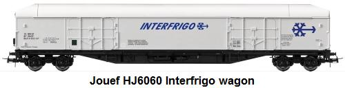 Jouef HJ6060 Interfrigo wagon