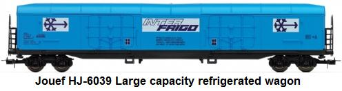 Jouef HJ-6039 Large capacity refrigerated waggon