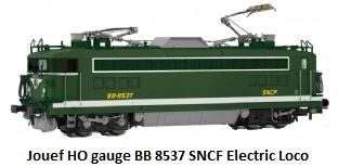 Jouef BB 8537 electric locomotive of the SNCF in HO gauge HJ2054