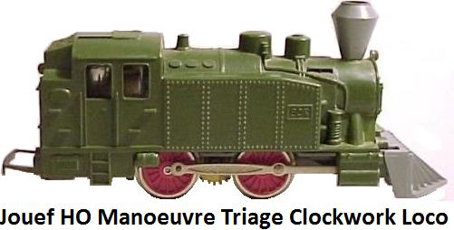 Jouef Manoeuvre Triage 708 clockwork loco from 1955