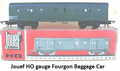Jouef Fourgon 459 baggage car