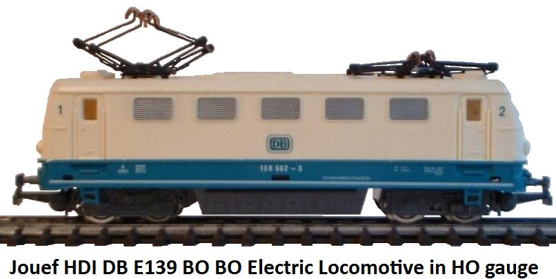 Jouef HDI DB E139 Bo Bo Electric loco in HO