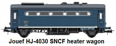 Jouef HJ-4030 SNCF heater wagon