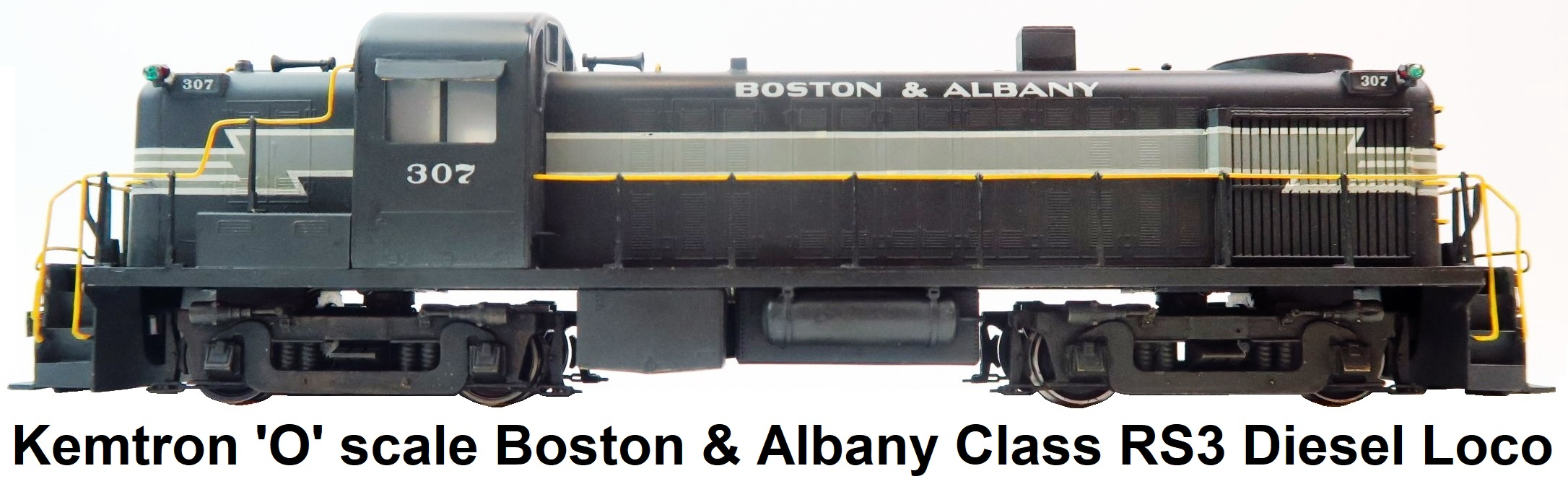 Kemtron 'O' scale Boston & Albany Class RS3 Diesel Locomotive