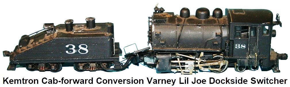 Kemtron Cab-forward conversion Varney Lil Joe Dockside switcher