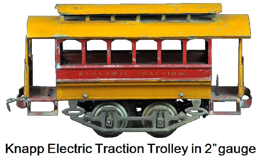 Knapp Electric Traction Trolley - 2-inch gauge