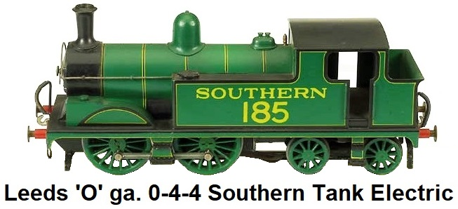 Leeds Model Company 'O' gauge Adams Class 0-4-4 Southern tank electric circa 1935