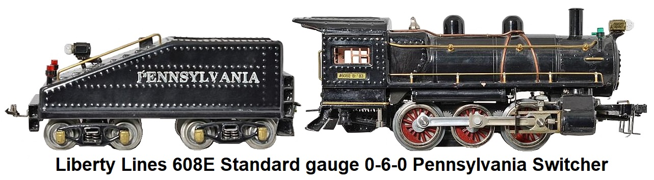 Liberty Lines 608E Standard gauge 0-6-0 switcher