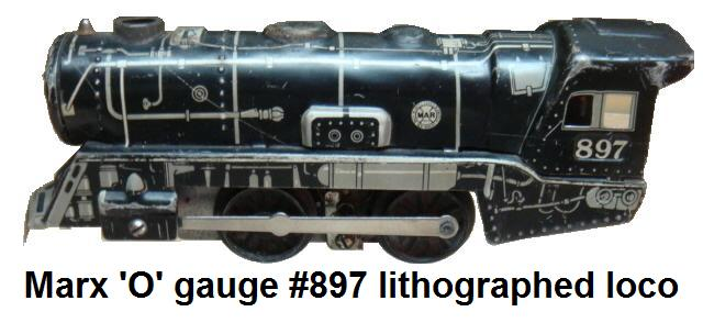 Marx 'O' gauge Steam loco