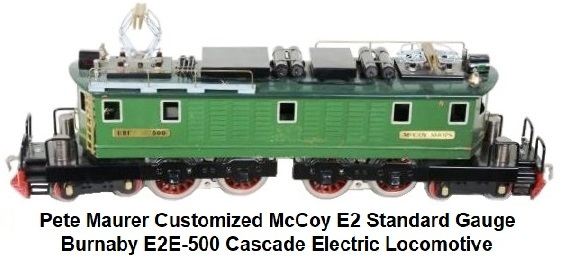 Maurer refurbished McCoy E2 Burnaby E2E-500 Electric in Standard gauge