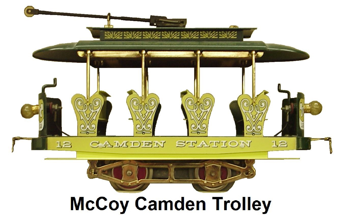 McCoy Camden Station #12 Trolley made 1976