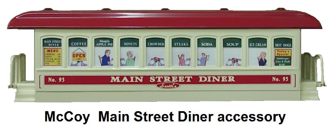 McCoy Main Street Diner accessory