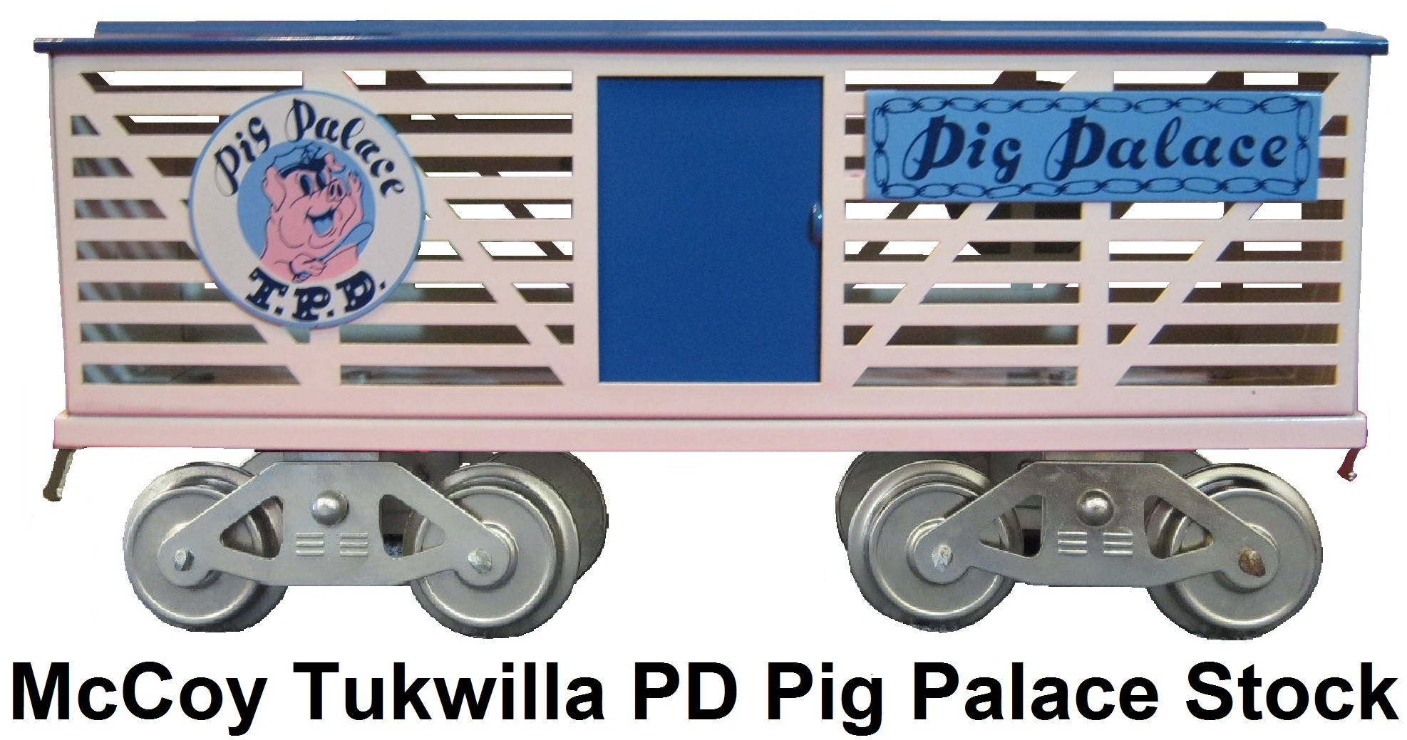 McCoy Tukwilla Police Department Pig Palace stock car