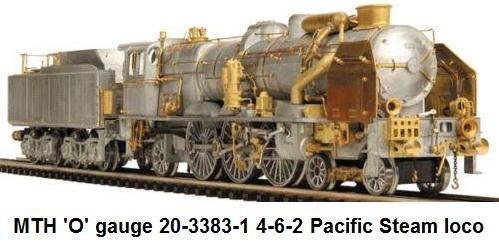 MTH 4-6-2 Pacific in 'O' gauge