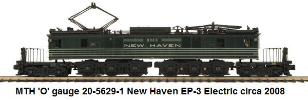 MTH New Haven EP-3 electric in 'O' gauge circa 2008