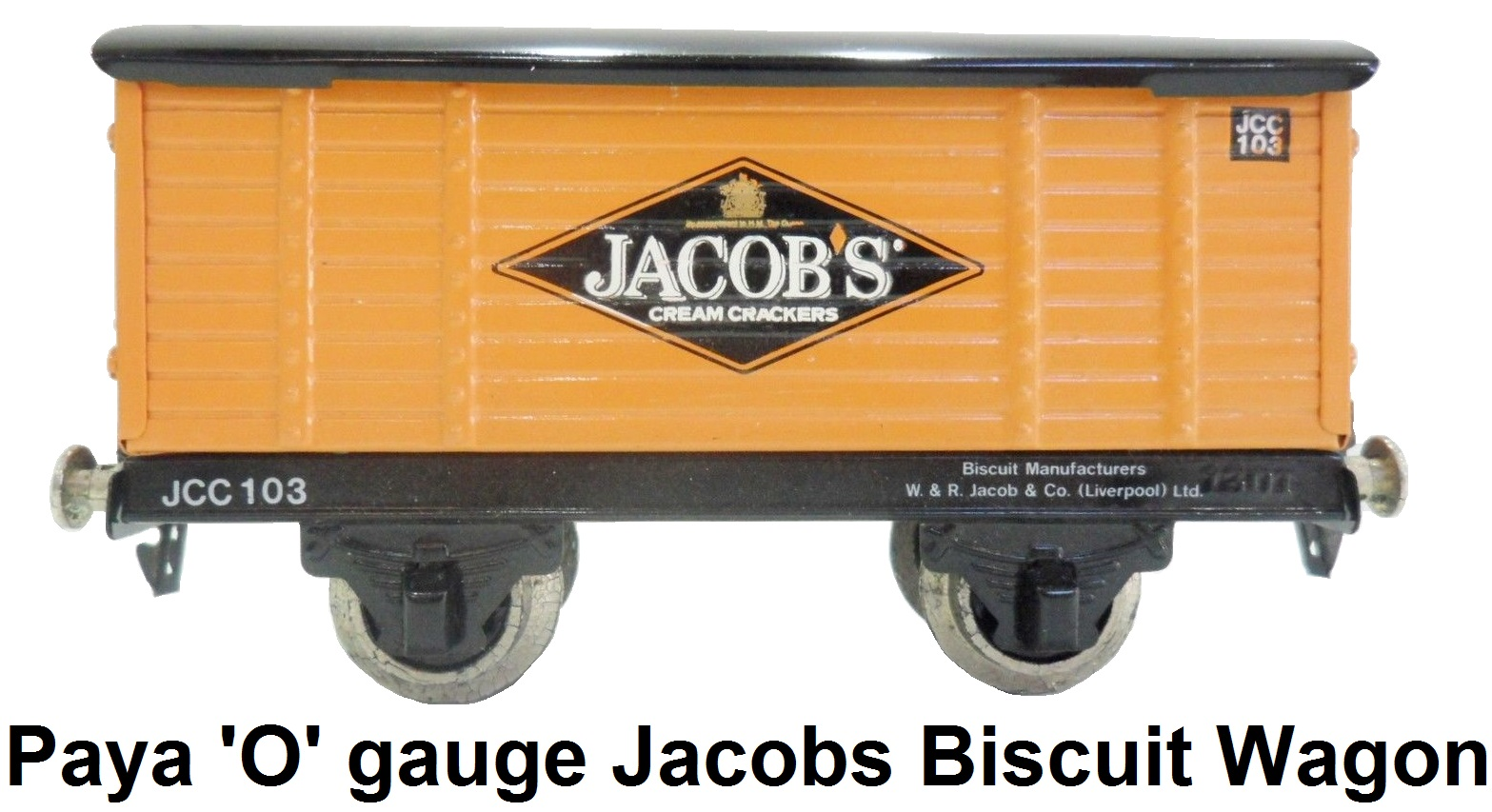 Payá 'O' gauge Jacobs Biscuit Wagon