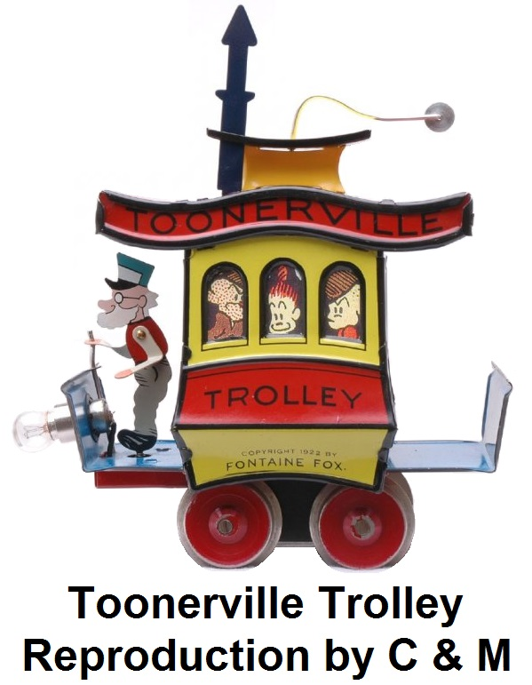 Toonerville Trolley Reproduction by C & M