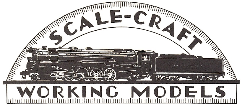 Scale Craft logo from 1934